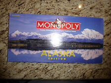 MONOPOLY ALASKA EDITION by PARKER BROTHERS USAOPOLY 2-8 Players,8 to Adult 1997
