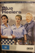 BLUE HEELERS COMPLETE EIGHTH SEASON PART 1 DELETED RARE OOP PAL DVD COP TV SHOW