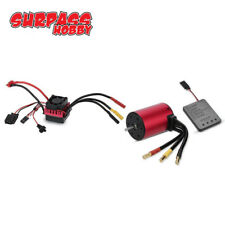 Combo S3650 4300KV Motor +Brushless ESC +Programmkarte Für 1:10 RC Auto LKW DEW