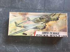 Airfix Box Only Focke Wulf 189 Vintage Banner