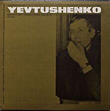 THE POETRY OF YEVTUSHENKO Read by Milt Commons-NM1966LP FOLKWAYS w/TEXT INSERT