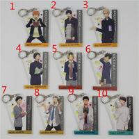 Anime haikyuu Rubber Keychain Key Ring Rare straps cosplay