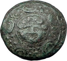 ALEXANDER III the Great 323BC Macedonia Ancient Greek Coin SHIELD HELMET i61361