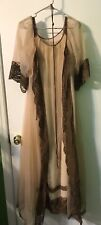 Vintage Janelle Of California Medium Nightgown and Robe Style 866
