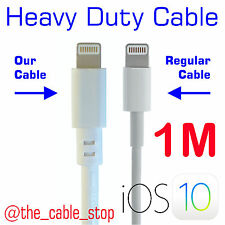 iPhone 7 6 5 Charger Heavy Duty Plus Cable Lead Cord DATA Sync 8-pin USB iOS 11