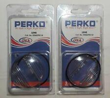 Two Perko Spare Lens Cat. No. 0284DP0CLR Fits Perko Cat. Nos. 0939 and 0265