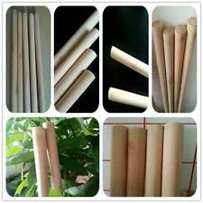 More details for 5 wooden handles size 4'x24mm job lot broom snow shovel handle sweep brush