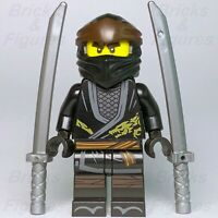 New Ninjago LEGO® Cole Legacy Black Ninja Minifigure 70669 70670 70662 Genuine