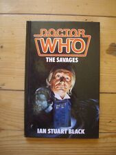 Doctor Who The Savages *1986 W H ALLEN HARDBACK, NOT EX-LIBRARY*