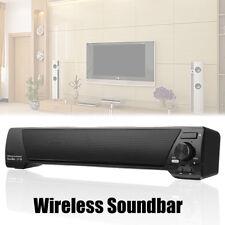 Tele Altavoz Inalámbrico Bluetooth Barra Sonido Casa Bar Hogar Subwoofer Estéreo