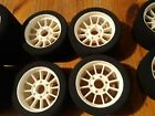 5 pairs of MUGEN MRX4 TIRES FRONT/REAR NEW/USED