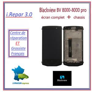 écran complet avec chassis ou écran sans chassis blackview bv8000-8000 pro