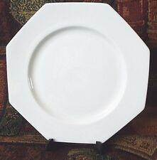 Caverswall Salad 8 in Plate Vintage Ivory White Fine China England Dinnerware