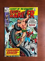 Sub-Mariner #27 (1970) 6.5 FN Marvel Key Issue Bronze Age Comic 1st Kraken App