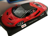 Maisto 1:18 Scale - Lamborghini Centenario - Red - Diecast Model Car