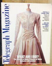 UK TELEGRAPH MAGAZINE. DIANA'S DRESSES PREVIEW RARE MAY 1997.