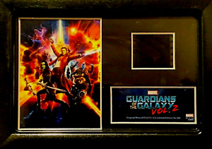 GUARDIANS OF THE GALAXY FILM CELL - Vol 2 Marvel 2017 SD Comic Con Collect 35mm