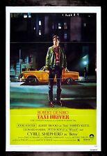 Taxi Driver ✯ CineMasterpieces Movie Poster Deniro Scorsese Nm-M 1976 Trifold