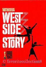 West Side Story (1961) - Richard Beymer, Natalie Wood - DVD NEW
