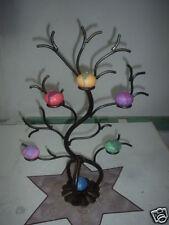 Albero porta candele in ferro battuto, idea regalo