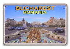 BUCHAREST ROMANIA FRIDGE MAGNET SOUVENIR IMÁN NEVERA