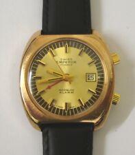 Swiss Emperor Manual Wind Alarm Wrist Watch - £395