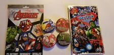 MARVEL AVENGERS PARTY PACK~TATTOOS, PLAY PACK & (4) MAGIC WASH TOWELS
