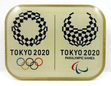 2020 Tokyo Olympic Games Official Emblem Set of 2 Pin & Magnet Badge