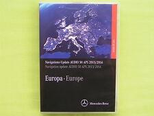 DVD NAVIGATION EUR. MERCEDES BENZ AUDIO 50 APS 2016 CLS E KLASSE NTG 4-212 LACHS
