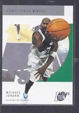 Michael Jordan Washington Wizards Basketball Trading Cards