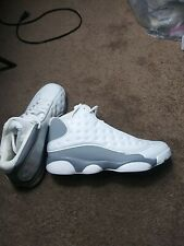 New listing Mens White Sneakers Mids Sports Basketball Athletic Shoes Jogging Tennis  9.0