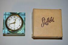 Sheffield Green Glass Clock