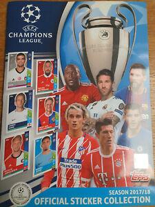 Topps Champions League 2017 - 18  complete album