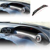 For Honda Civic 2006-2011 Dry Carbon Fiber BYS Dashboard Frame Decor Cover Trim