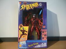 "MIB Toy Biz Spider-Man Carnage 10"" 1994"