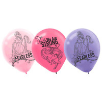 Disney Tangled Rapunzel Birthday Party Latex Balloons 6 Pack
