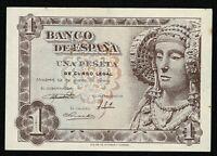 Billete de España 1 peseta 1948 Dama de Elche E00127396