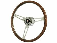 1969 - 1989 Cadillac S6 Classic Walnut Wood Steering Wheel Kit | Non Telescopic