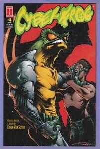 Cyberfrog 4 Jae Lee Alternate variant Harris Ethan Van Sciver 1996 1st printing