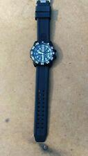Auth LUMINOX Navy Seals 3050/3950 Quartz Plastic x Rubber Men's watch