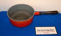 vintage DESCOWARE 3 QT CAST IRON POT PAN --- no lid --- Made in Belguim