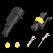 10x Superseal 1-polig Stecker Steckverbinder Wasserdicht für Auto KFZ