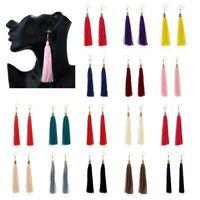 Long Drop Tassel Fringe Earrings Retro Dangle Drop Tassle Latest Trend *UK*