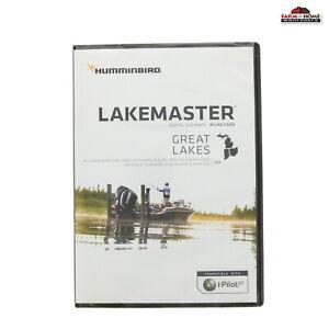 Humminbird Lake Master Great Lakes Edition GPS Map Micro SD V4 600015-7 ~ New