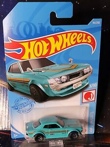 2021 Hot Wheels #151 '70 Toyota Celica. Nice Brand New Package