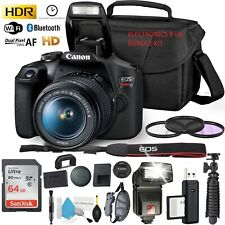 (LOOK HERE- CLICK HERE!!!) **NEW** SEALED CANON REBEL T7 DSLR CAMERA BUNDLE KIT