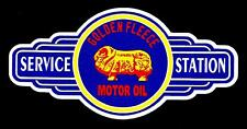GOLDEN FLEECE RAM SIGN VINYL Sticker Decal Garage Service GAS OIL Station Petrol