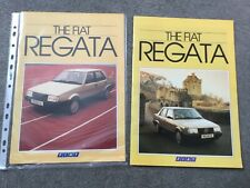 FIAT  REGATA 1984 and 1985 BROCHURES in Excellent condition