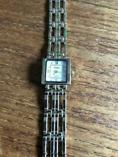 Ladies CELSIOR Square Shaped Gold Coloured Watch & Straps W783/6