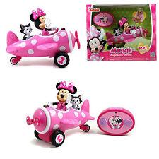 Jada Disney Minnie Mouse Electric RC Radio Remote Control Airplane Car Kids Toy